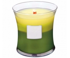 wood wick scented candle
