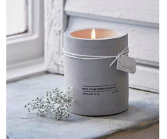 cement scented candle