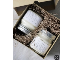 soy wax scented candle